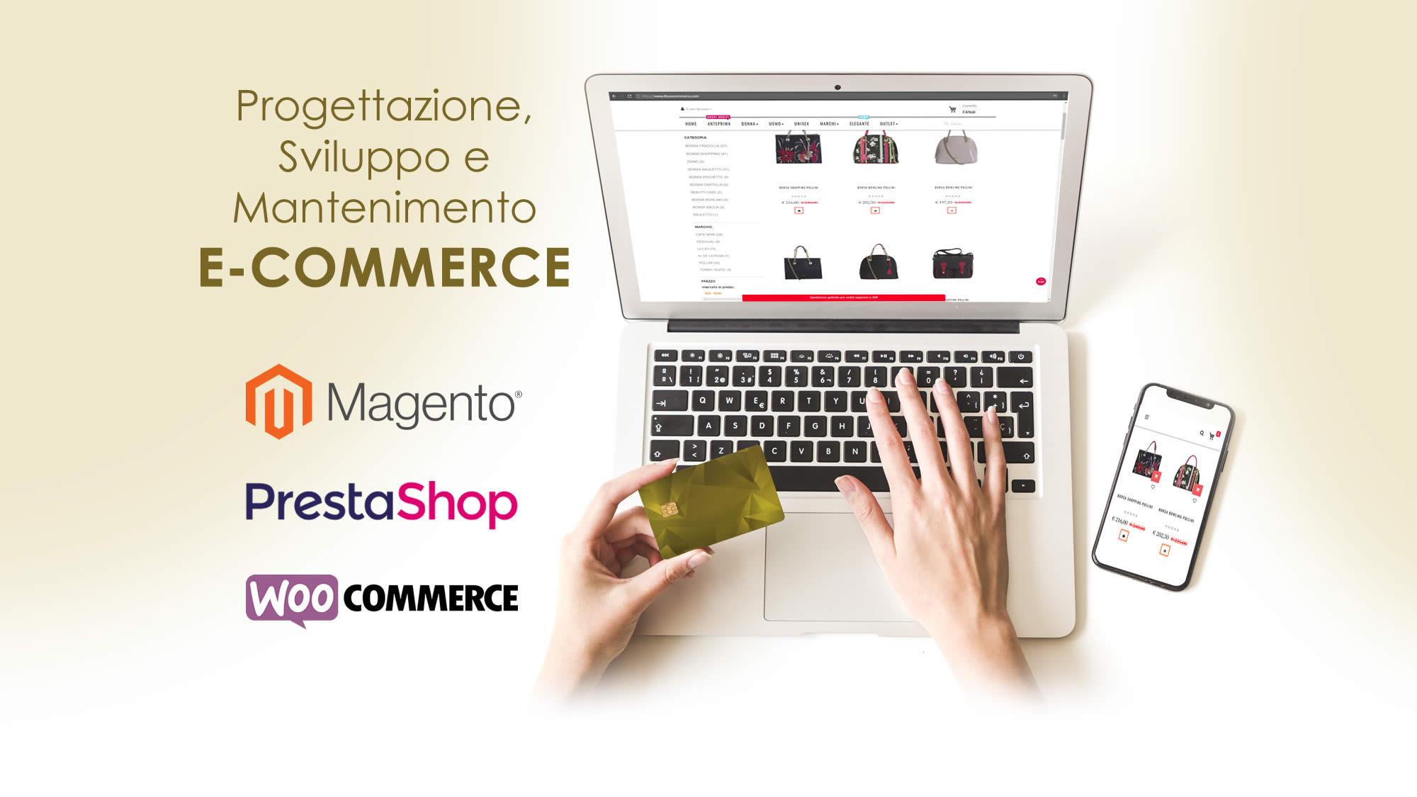 slide sviluppo e-commerce