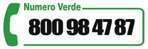 numero verde 800984787