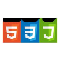 loghi html5, css3 e js