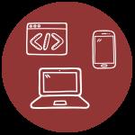 icona sito web responsive